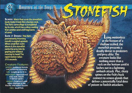 Stonefish front