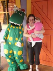 Dorothy-the-Dinosaur-at-Dreamworld