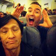 JeffFattSleepingonAirplane