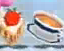 KRtDL Food-Cheesecake and Cup of Liquid