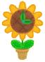 KEY Flower Clock sprite