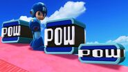 Three Pow Blocks in Super Smash Bros. 4