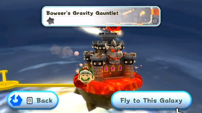 Bowser's Gravity Gauntlet