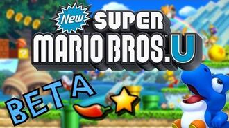 -New Super Mario Bros. U-- Unused beta content! (Gaming Mysteries)