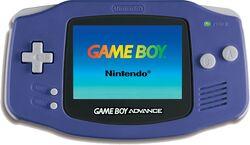 Game boy Advance Purple Model