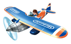 Pilotwings Resort - Plane artwork