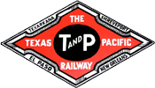Texas and Pacific Railway logo