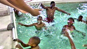 Blackchildrenswimpool