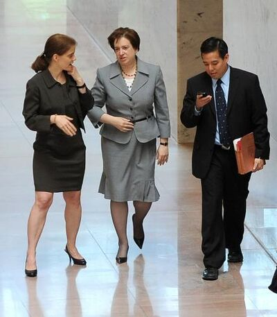 Elena Kagan Goes to Washington