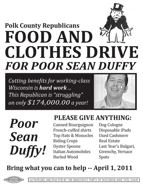Poor sean duffy