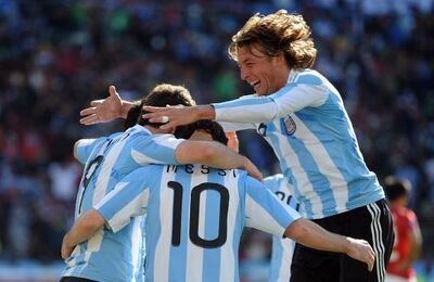 World Cup Argentina 4-1 over S Korea
