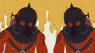 Pyro costume ash