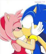 Sonamy beijo 1