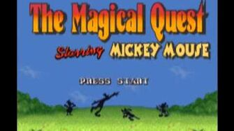 Magical Quest, The - Starring Mickey Mouse (SNES) Music - Mini Boss Battle