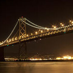 <b>San Francisco-Oakland Bay Bridge</b>, one of the bridges destroyed by <a href=