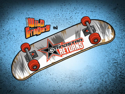 Grindstar Returns Title Card