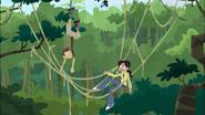 Aviva and Chris tangled in Vines