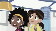 Aviva and Koki like Oh no!