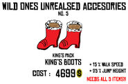 King's boots