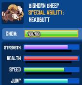 Bighornsheepstats