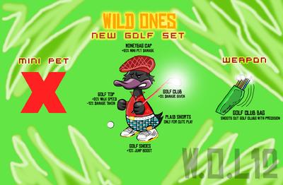Duck Golf Set Complete