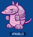 Armadillo blue