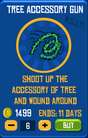 Tree Accessory Gun