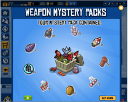Weapon little pack 4