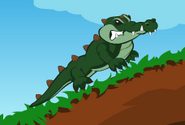 Caged aligator3