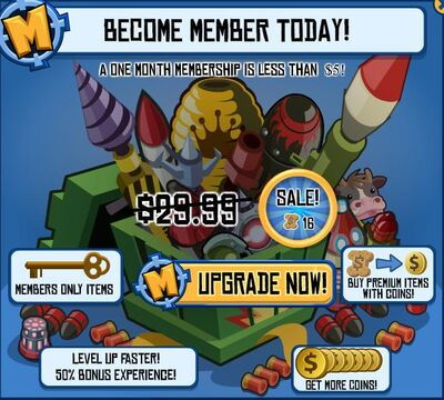 Become A Member Page
