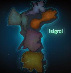 Map Isigrol
