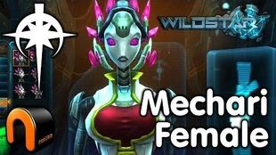 WildStar - Dominion - Mechari Female, Character Creation