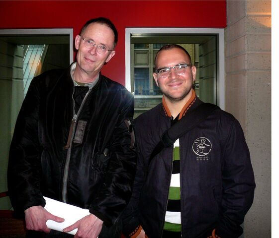 File:William Gibson and Cory Doctorow.jpg