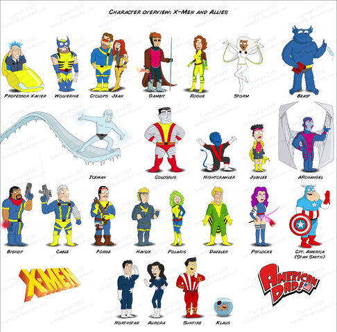 File:X Men in American Dad Style 3 by bartje006.jpg