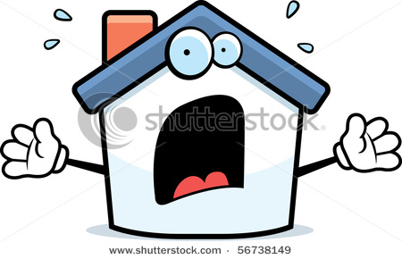 Stock-vector-a-cartoon-house-with-a-scared-expression-56738149