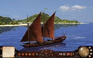 Scampavia Ship