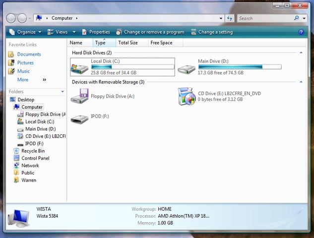 File:Windows Vista 5384 Windows Explorer (Computer).png