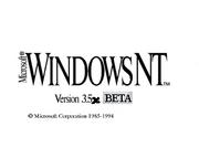 09 - Windows NT 3.5xBETA