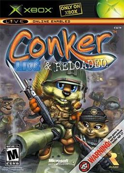 Conker - Live & Reloaded Coverart