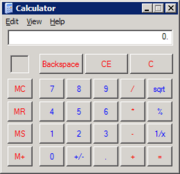 Windows 95-XP Calculator