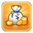 Gold Gift Icon