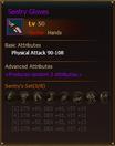L50 HunterHands SentryGloves