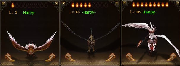 Pets Harpy 3Stages