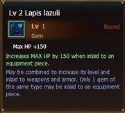 Lapislazuli lvl2