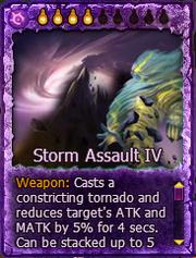 Cards StormAssaultIV Art