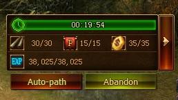Escort Quest Toolbar