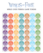 Wings Over Pyrrhia Tokens