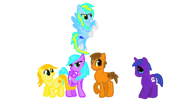 File:Wings of fire ponies by silver storm dragon-d5m64ay.png
