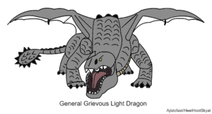 Grievous Light Dragon