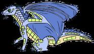 Lanternfish-treedragon